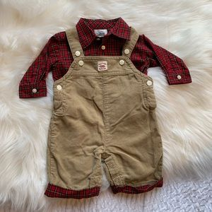 Chaps newborn outfit